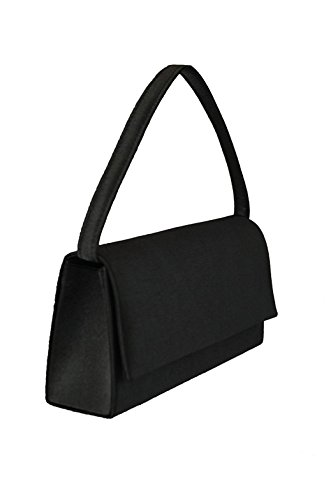 Bernstyn Borsetta Da Donna Lady Cordula Clutch Party / Evening Bag Handbag Black