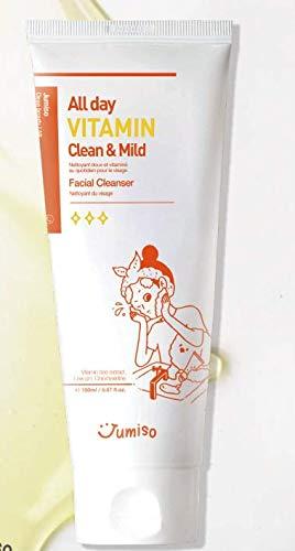 [Jumiso] All day VITAMIN Clean & Mild Facial Cleanser, Low pH, Vitamin, Vegan, Sensitive skin