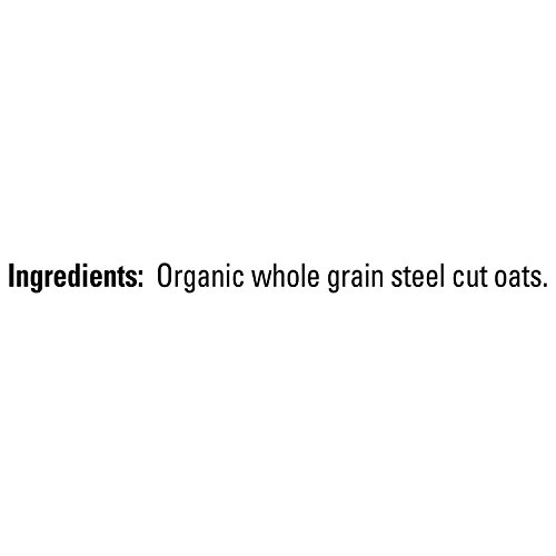 Quaker Steel Cut Oats, USDA Organic, Non GMO Project Verified, 20oz Resealable Bags (Pack of four)