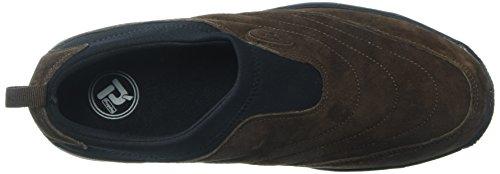 Propet Männer M3850 Waschbar Moc Walking Shoe Sr Brownie / Schwarz
