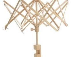Swedish Glimakra Large Wood Umbrella Swift 12' - 100'