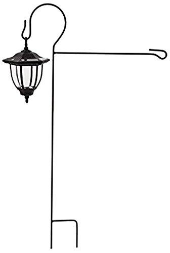 "Gifted Living Solar Garden Flag Lantern Stand, 18"" x 32 3/4"""