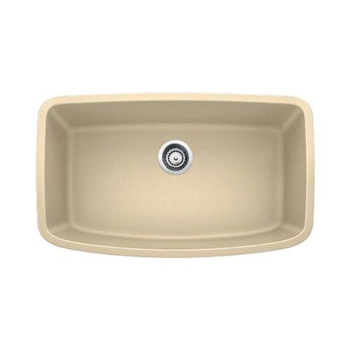 Blanco 441612 Valea Super Undermount Single Bowl Kitchen Sink, Large, Biscotti