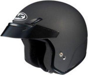 Hjc CS-5 CS5 CRUISERn Flat Black SIZE:LRG Open Face Motorcycle Helmet