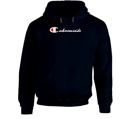 Cashmeousside Cashmeoutside Cash Me Outside Dr Phil Girl Danielle Champion Hoodie T Shirt L Navy
