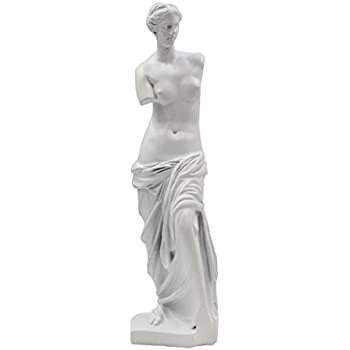KIKITOY Venus de Milo Statue Greek Roman Mythology Goddess Aphrodite Statue Great Home or Office Decorations