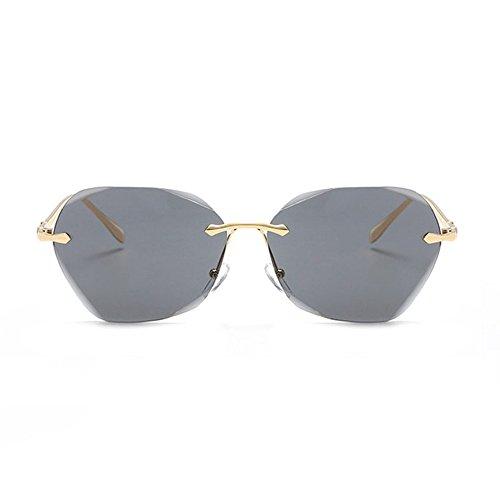 Aoligei Lunettes de soleil FASHION Big Frame lunettes de soleil rétro européens et américains vent lunettes de soleil femme lunettes ANTI-UV Y2CcP0HZnh