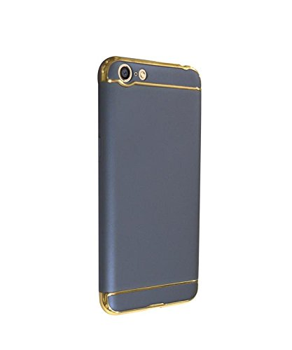 huge selection of 829d8 afc0b Covernew 3 In 1 Back Cover for Oppo A57 - Navy Blue: Amazon.in ...