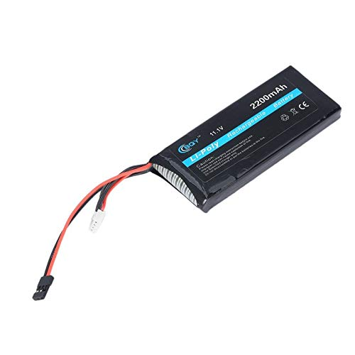CloverUS High Capacity 11.1V 2200mAh 15C Lithium Battery Rechargeable Battery Parts