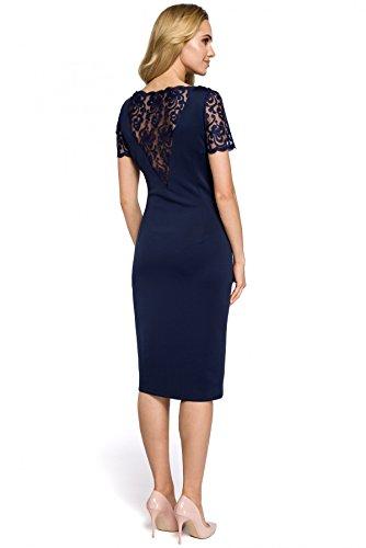 MOE MOE Marineblau Damen MOE Kleid Marineblau Damen Damen Kleid Kleid Marineblau rRrUSnq