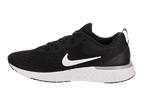 Damen Grey React Scarpe Nero Nike Laufschuh 001 Glide White Wolf Shield Donna Black Running dqxSUA
