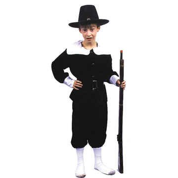 [Pilgrim Boy Costume - Small] (Boy Pilgrim Costumes)