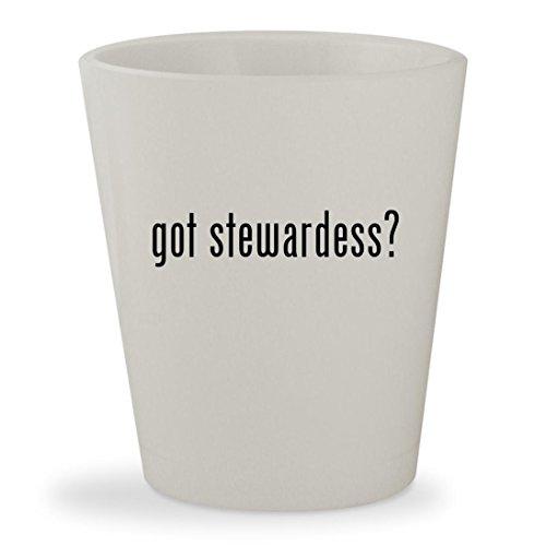 Pan Am Stewardess Costumes (got stewardess? - White Ceramic 1.5oz Shot Glass)