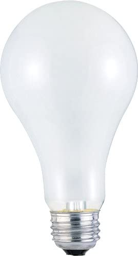 200w 130v Frosted Incand A23 Light Bulb 750 Hour 3600 Lumen 6-Pack Westinghouse 3696000