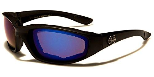 Black sol SUNGLASSES SDK de Gafas Mirror hombre Purple para Cw1qxzYtq