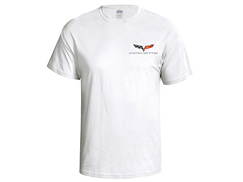 Corvette C6 White T-Shirt (Corvette White T-shirt)
