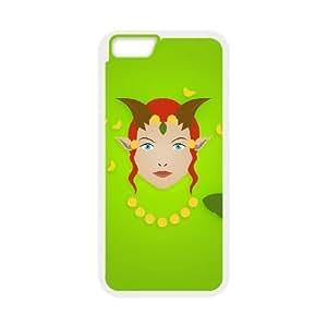 iphone6 plus 5.5 inch White phone case Enchantress Dota 2 DOT5206111