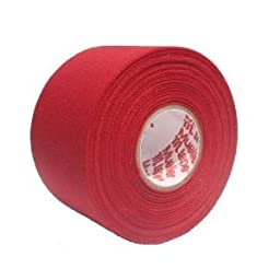 M-Tape Colored Athletic Tape - Red, 6 Rolls