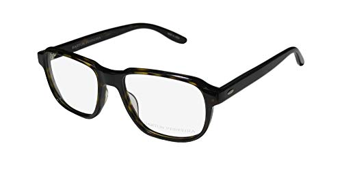 Barton Perreira Derrick Mens Designer Full-rim Simple & Elegant High-class Eyeglasses/Eyeglass Frame (53-18-145, Dark Tortoise) (Brillen Made In Japan)