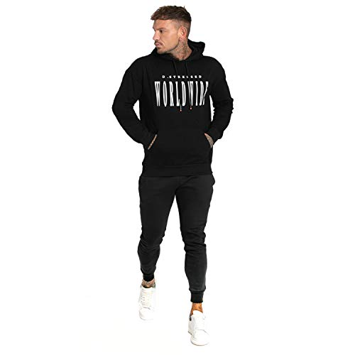 Mens Hoodies and Joggers Set Tracksuit Athletic Sports Casual Jogging Sweatsuit