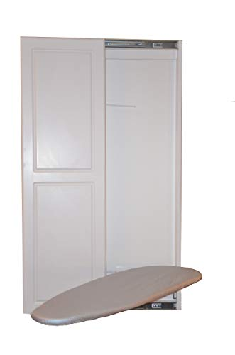 Slide-Away Ironing Boards Double Panel Door