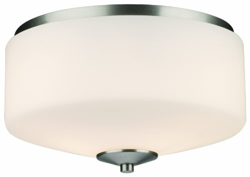 Philips Forecast F602736 Radius Round Ceiling Light, Satin Nickel ()