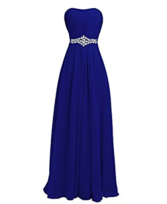 Fashion Plaza Women's Strapless Dress