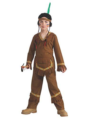(Rubies Native American Boy Costume, Small)