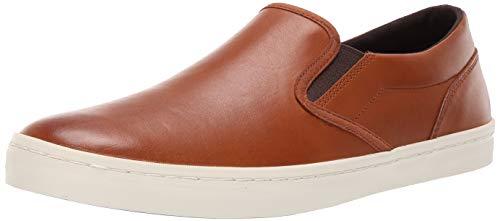Cole Haan Men's Nantucket Deck Slip-ON Sneaker, British Tan Handstain, 12 M US