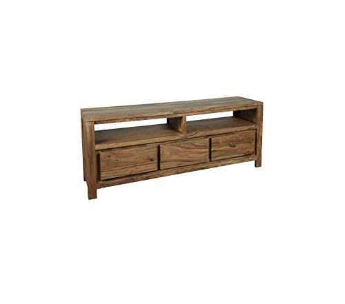 Wood & Style Furniture Urban TV Stand Natural Premium Office Home Durable Strong