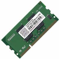 - 512MB PC2-3200 (400Mhz) 144 pin DDR2 SODIMM CC416A (CKA) by Gigaram