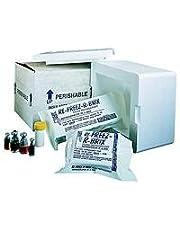 "Polar Tech RB8 Re-Freez-R-Brix Foam Refrigerant Packs, 7.5 oz, 4.5"" x 4.75"" (Case of 21)"