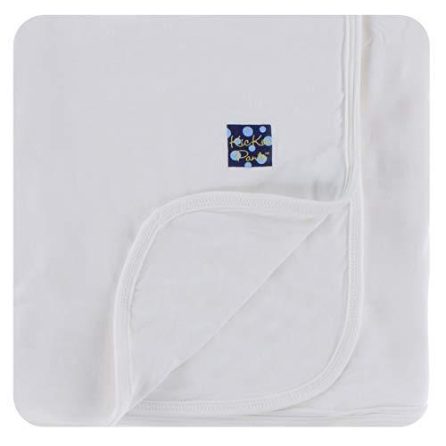 KicKee Pants Swaddling/Receiving Blanket, Natural