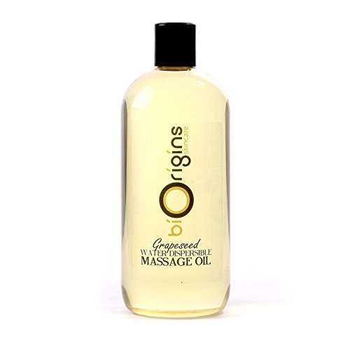 - Mystic Moments Grapeseed Water Dispersible Massage Oil - 500ml