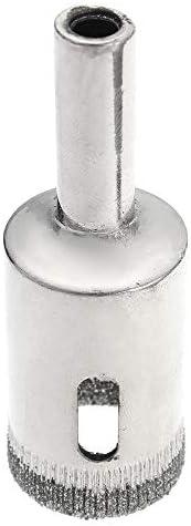 Queenwind 15pcs 3-42mm ダイヤモンドドリルビットセットガラスセラミック用穴鋸カッター