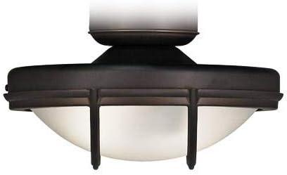 B00013V0LY Oil-Rubbed Bronze Wet Rated 2-Light LED Fan Light Kit 31hAe2xOjmL
