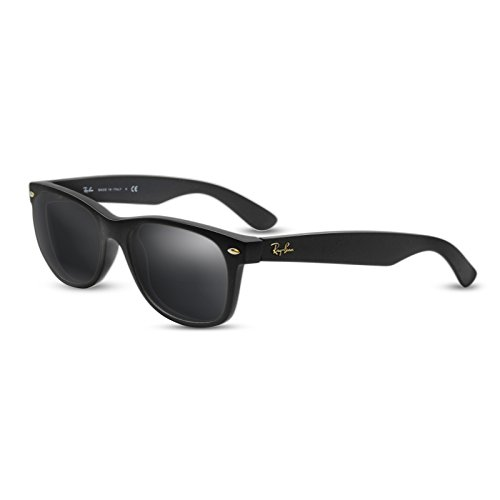 Black (Dark Grey) Replacement Lenses for Ray Ban RB2132 New Wayfarer - Wayfarer Tint Sunglasses Dark