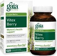 Gaia Herbs Vitex Berry Liquid Phyto-Capsules, 60 ()