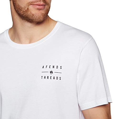 de Afends corta Company blanca manga de Camiseta d8qIdf