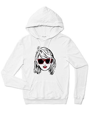 Taylor Swift Hoodie- Big Print- Black/red print
