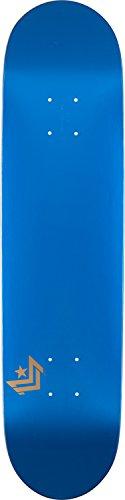 "Mini-Logo Deck 8.5"" Chevron Metallic Blue Shape 181 Skateboa"