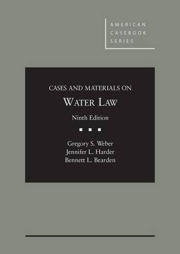 Water Law,Cs.+Mtrls.