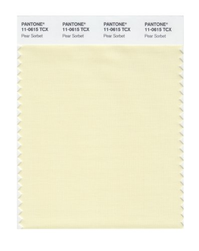 Pantone 11-0615 TCX Smart Color Swatch Card, Pear (Pear Sorbet)