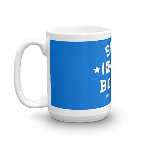 (SUBIE BOXING CLUB. 15 Oz Ceramic Coffee Mugs With C-shape Handle, Comfortable To Hold. 15 Oz Mugs Makes The Perfect Gift For Everyone)