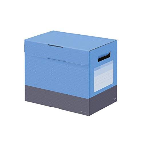 (まとめ)プラス ボックスファイルフタ付200mm スカイBL【×10セット】 生活用品 インテリア 雑貨 文具 オフィス用品 ファイルボックス 14067381 [並行輸入品] B07QBCMDLG