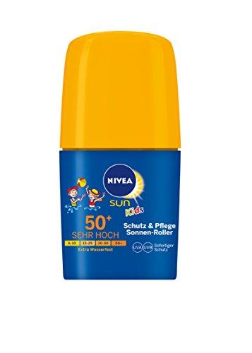 Nivea Sun Kids Schutz und Pflege Roller LSF 50, 2er Pack (2 x 50 ml)