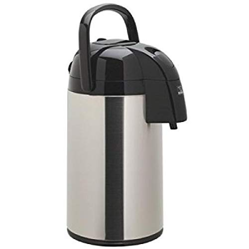 OKSLO Supreme 3-liter airpot, brushed stainless steel
