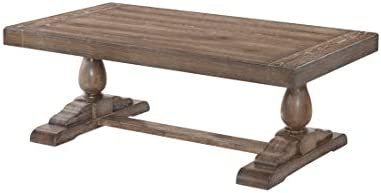 Lane Home Furnishings Trestle Cocktail Table, Brown