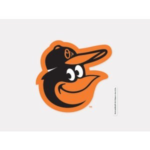 WinCraft MLB Baltimore Orioles 93907012 Perfect Cut Color Decal, 4