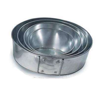 - Euro Tins multi layer cake pans Topsy Turvy Round 4 tier wedding cake pan - cake tin set with detachable stand